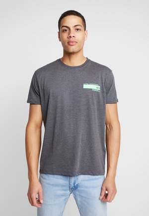 T-shirt print - charcoal heather