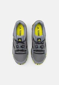 adidas Performance - TERREX HYPERHIKER LOW UNISEX - Vaelluskengät - grey four/core black/grey three - 3