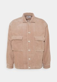 Obey Clothing - THEO SHIRT JACKET - Summer jacket - gallnut - 0