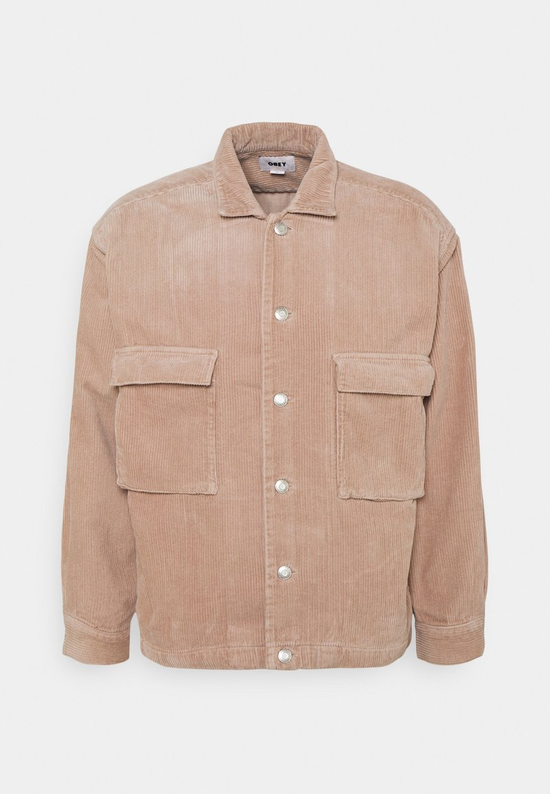 Obey Clothing - THEO SHIRT JACKET - Summer jacket - gallnut
