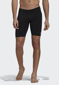 adidas Performance - PRO SOLID JAM POOL PRIMEGREEN SWIM SPORTS COMPRESSION JAMMER - Swimming trunks - black - 0