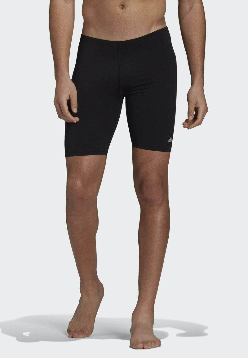 adidas Performance - PRO SOLID JAM POOL PRIMEGREEN SWIM SPORTS COMPRESSION JAMMER - Swimming trunks - black