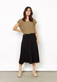 Soyaconcept - A-line skirt -  black - 0
