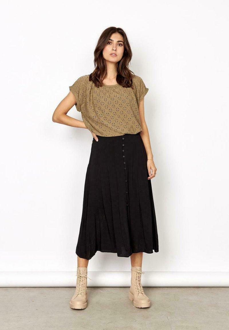 Soyaconcept - A-line skirt -  black