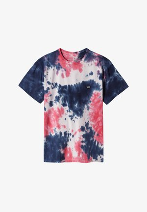 OFF THE WALL CLASSIC BURST TIE DYE - Print T-shirt - vans cool pink tie dye