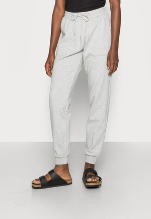 SLFSTASIE MW SWEATPANT NOOS - Pantalones deportivos - light grey melange