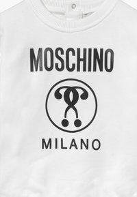 MOSCHINO - Mikina - optical white - 3