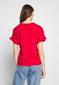 NAF NAF - CUTY - Camiseta básica - lipstick - 2