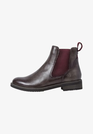 Ankle boots - anthrac/vine