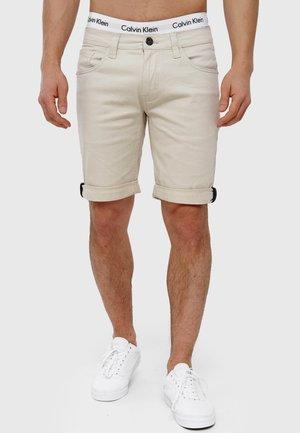 VILLEURBANNE - Denim shorts - fog