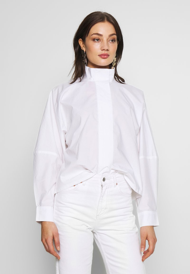 Weekday - NOELLE BLOUSE - Blouse - white