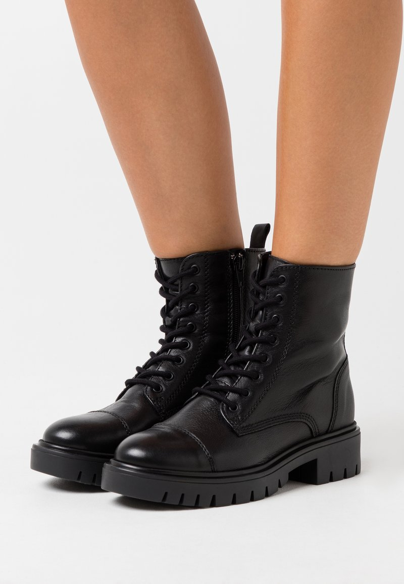 ALDO - REILLY - Lace-up ankle boots - black