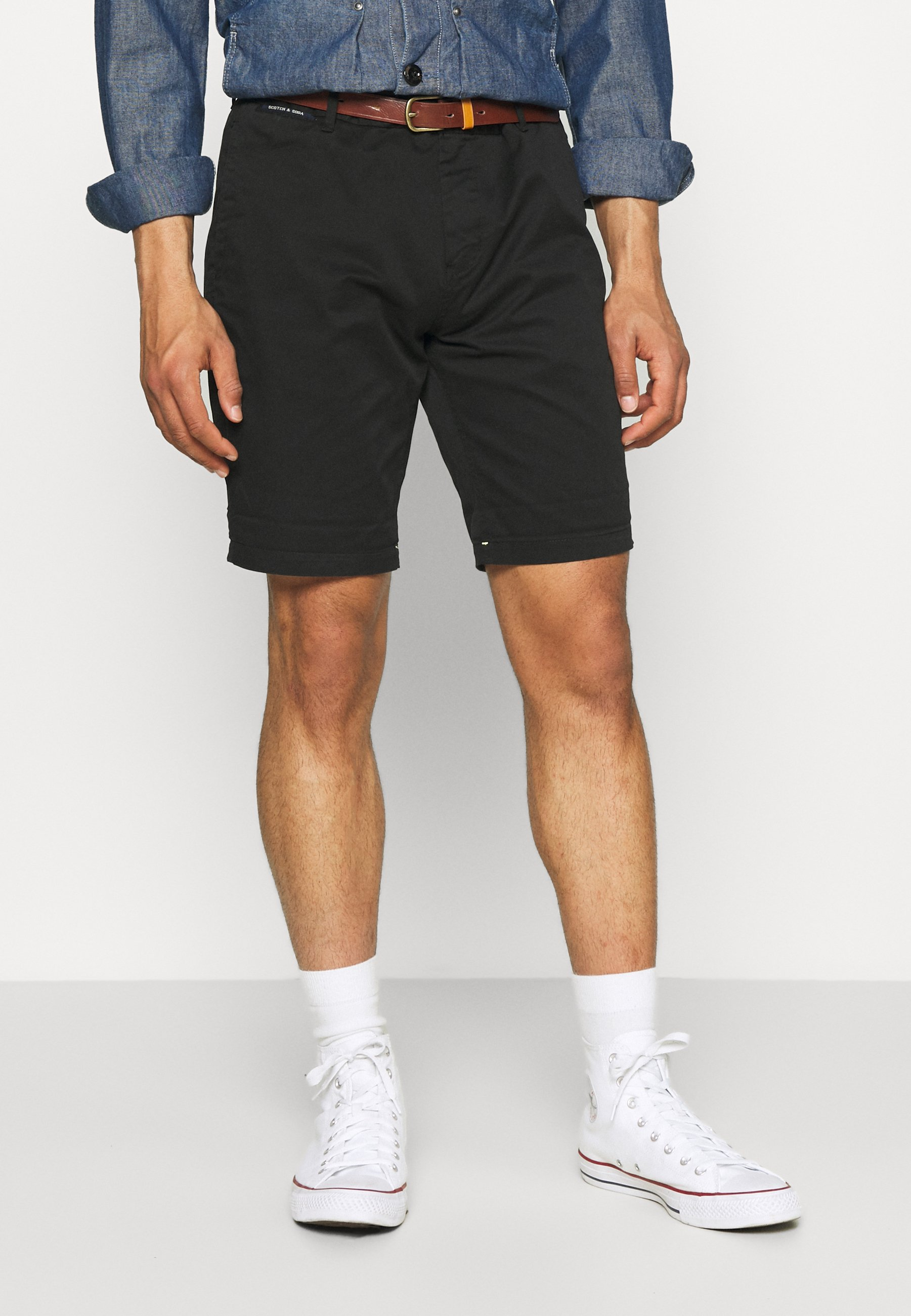 Homme CHINO WITH BELT - Short