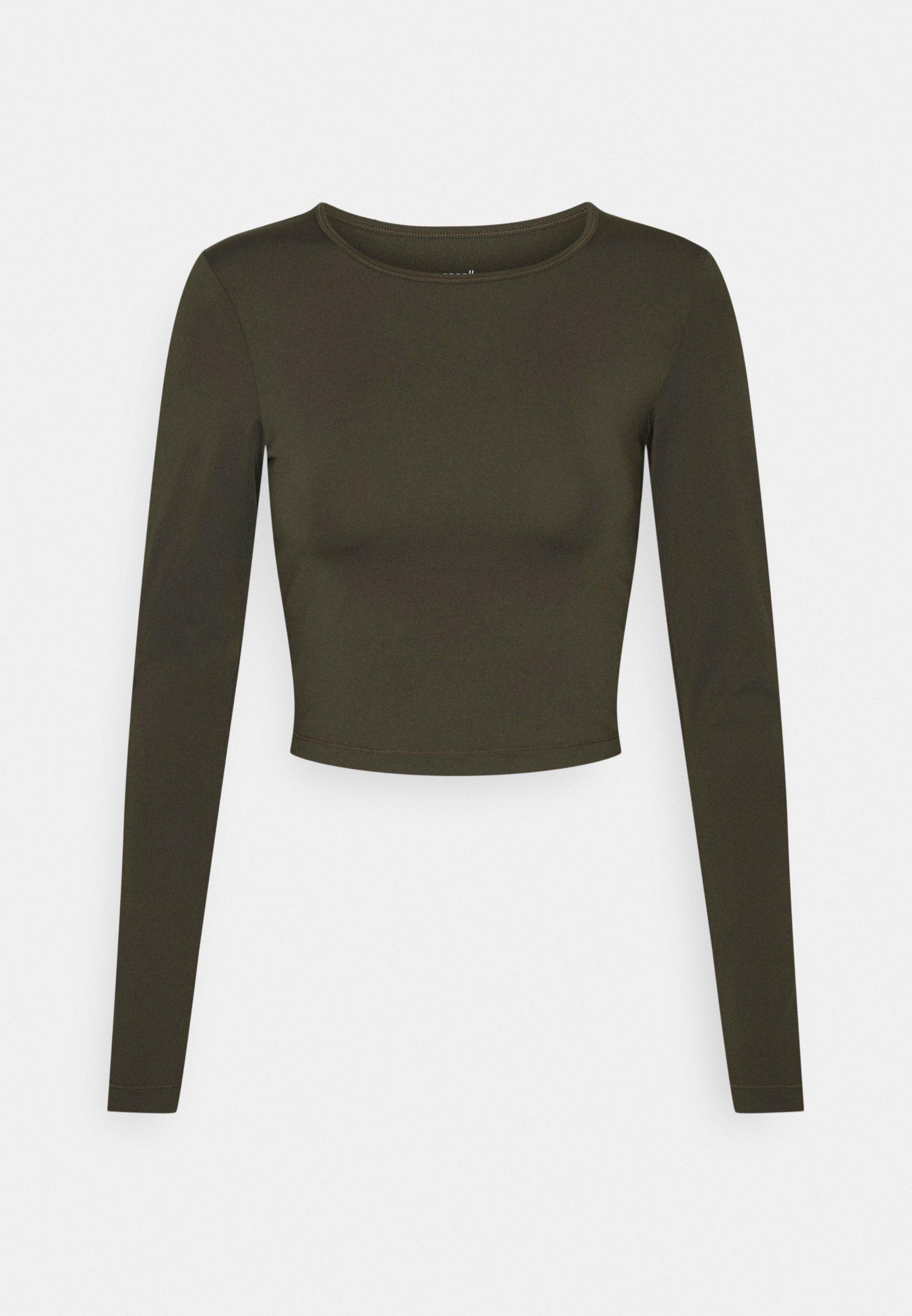 Women CROP LONG SLEEVE - Long sleeved top