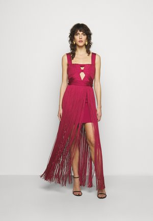 CUT OUT GOWN - Occasion wear - maroon
