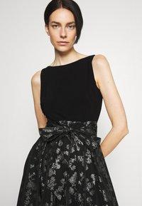 Lauren Ralph Lauren - YUKO - Cocktail dress / Party dress - black/silver - 4