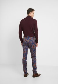 Topman - PRINTED TROUSER - Oblekové kalhoty - multi - 2