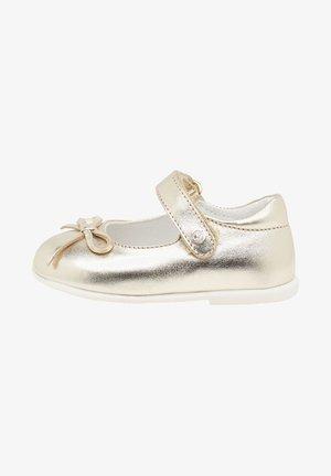 Ballerine con cinturino - gold