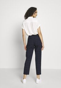 Monki - TARJA TROUSERS - Bukse - blue dark - 2