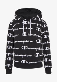 Champion - HOODED - Jersey con capucha - black - 4