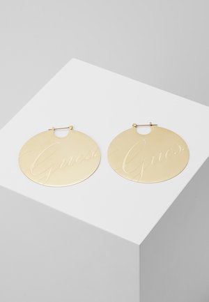 LIQUID - Earrings - gold-coloured