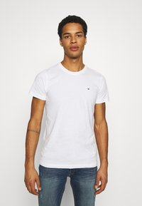 Tommy Jeans - CNECK TEES 2 PACK - T-shirt basic - white - 1
