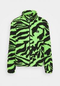 ZIP THROUGH JACKET  - Fleecová bunda - green