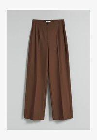 Bershka - Kalhoty - brown - 4