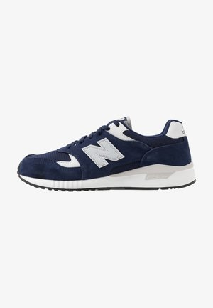 570 - Sneakersy niskie - navy/white