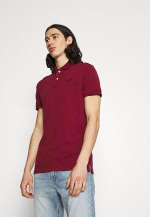 Poloshirt - burg