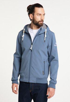Zip-up hoodie - graublau