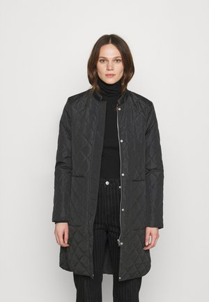 SLFFILLIPA QUILTED COAT - Bombertakki - black