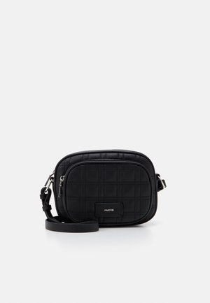 CROSSBODY BAG WAVE - Skulderveske - black