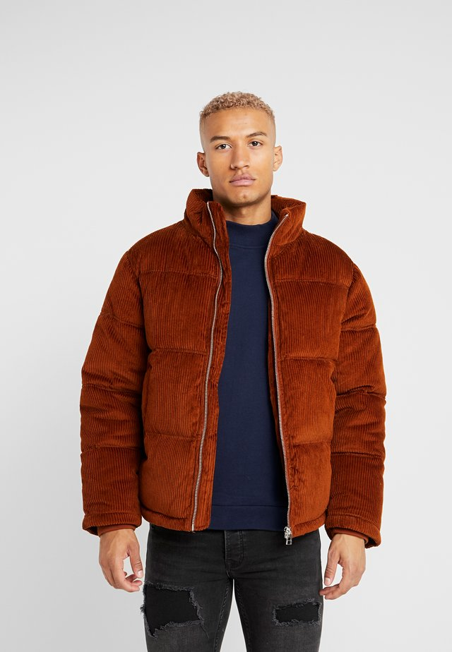 RUST PUGGER - Winter jacket - brown