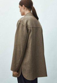 Massimo Dutti - Short coat - brown - 1
