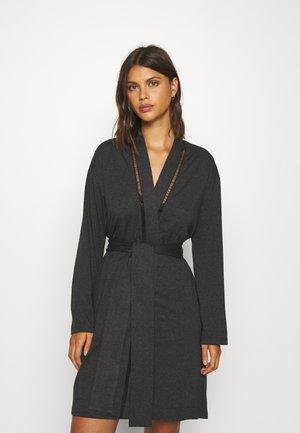 BRUME KIMONO - Dressing gown - anthracite grey