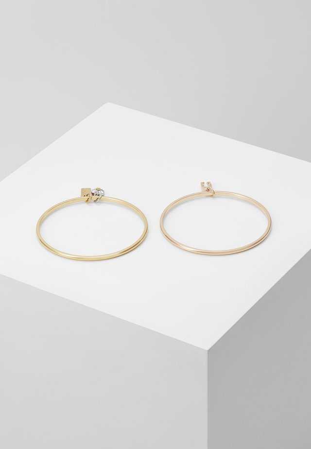 BANGLE SET - Bracciale - rosegold-coloured