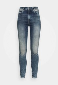 KAFEY ULTRA HIGH SKINNY - Jeans Skinny Fit - antic faded kyanite