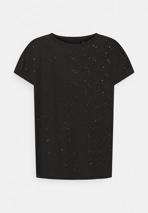 ONLSMILLA - T-shirt imprimé - black