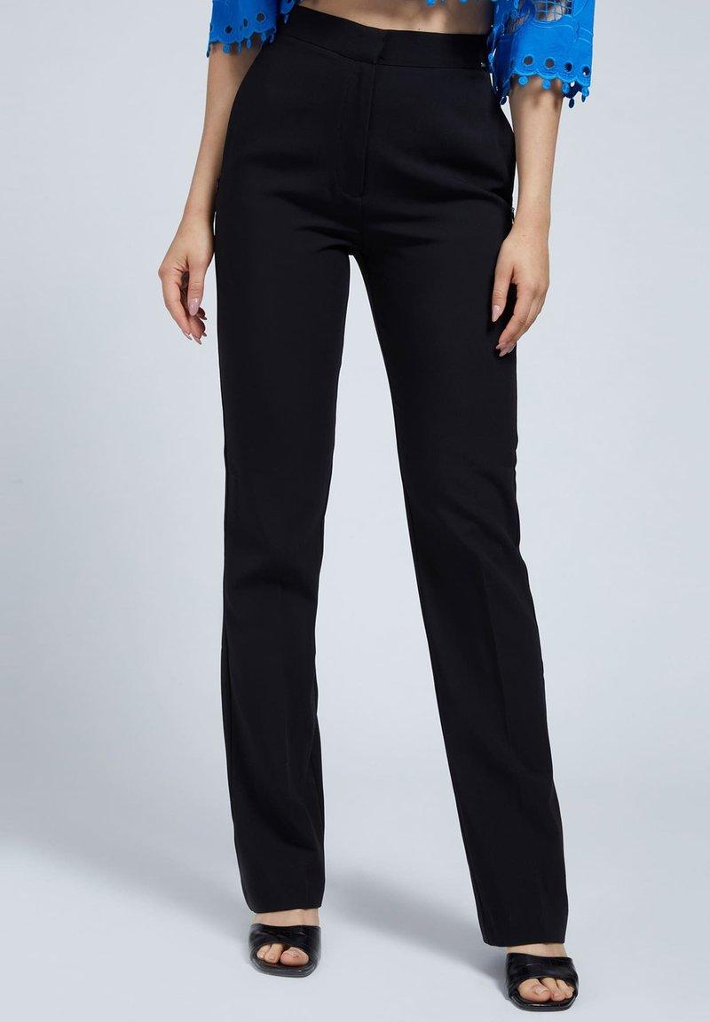 Guess - LOGO - Trousers - schwarz