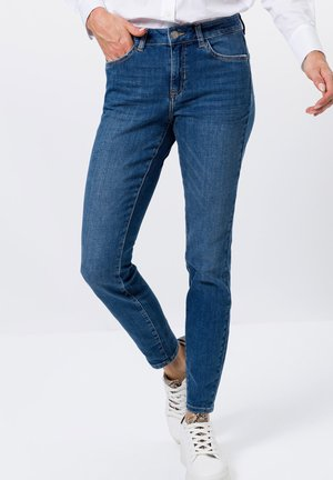 Jeans Skinny Fit - mid blue stone wash