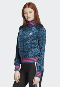 adidas Originals - ALLOVER PRINT TRACK TOP - Träningsjacka - blue - 2