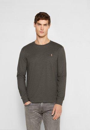 PIMA - T-shirt à manches longues - dark charcoal heather