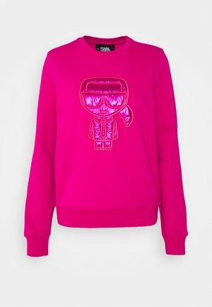 IKONIK PUFFER - Sweatshirt - pink