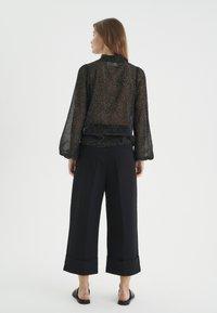 InWear - Blouse - black minimal dot - 2