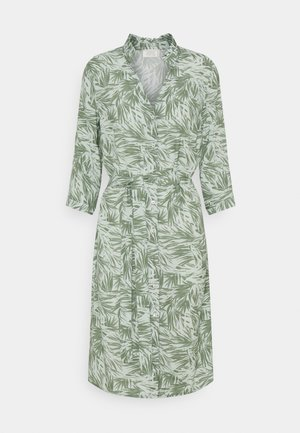 CALLA - Košilové šaty - jungle green