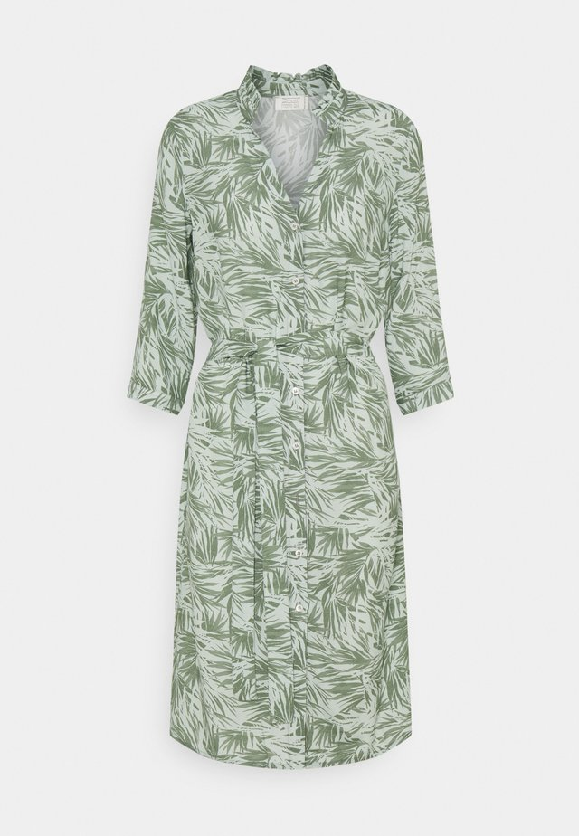 CALLA - Shirt dress - jungle green