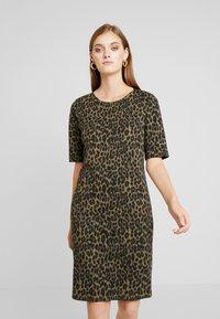 b.young - RIZETTA DRESS - Jersey dress - olive night - 0