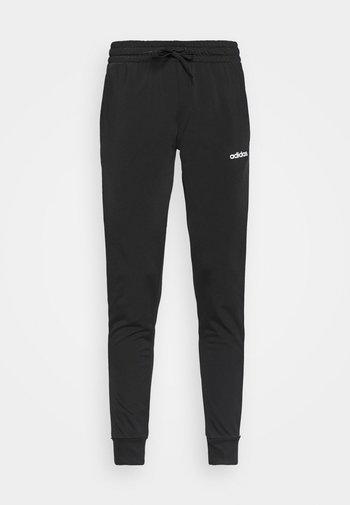 PANT  - Tracksuit bottoms - black/white