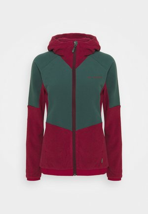WOMENS YARAS HOODED JACKET - Fleece jacket - cassis